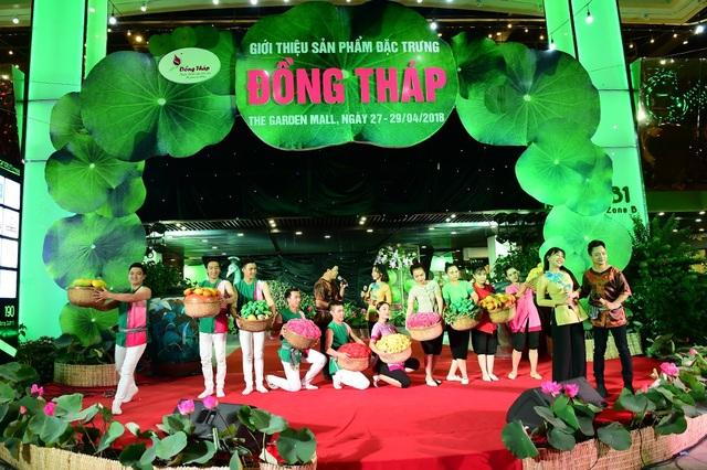 The Garden Mall tưng bừng khai mạc sự kiện sản vật Đồng Tháp - 9