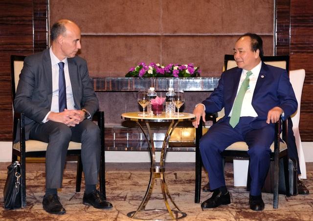 Thủ tướng Nguyễn Xuân Phúc tiếp Phó Chủ tịch Tập đoàn Dầu khí Total
