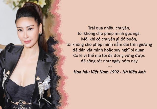 """Xem thêm: Hà Kiều Anh kể về tuổi thơ cơ cực và những vấp ngã trong hôn nhân Hà Kiều Anh lần đầu trải lòng về việc đóng """"cảnh nóng"""" năm 15 tuổi"""