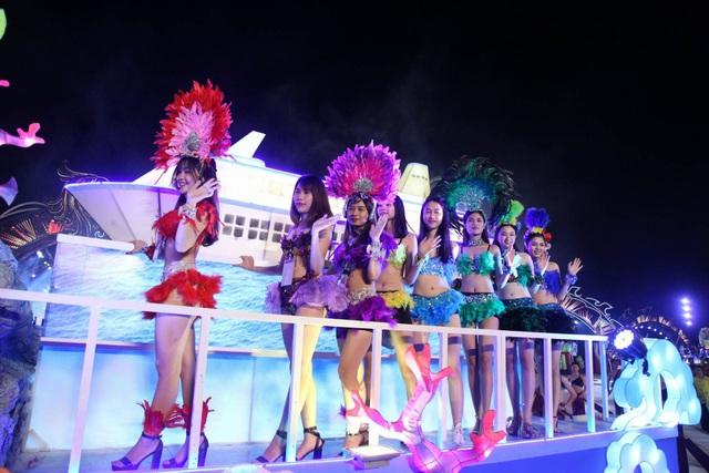 Một trong những màn biểu diẽn gây ấn tượng tại Lễ hội (ảnh QTV)