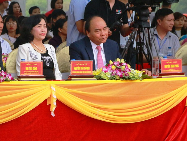Thủ tướng đánh trống khai hội Tràng An - 1