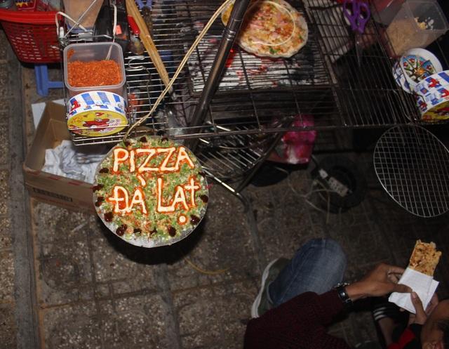 Và đặc biệt là món pizza nổi tiếng của Đà Lạt