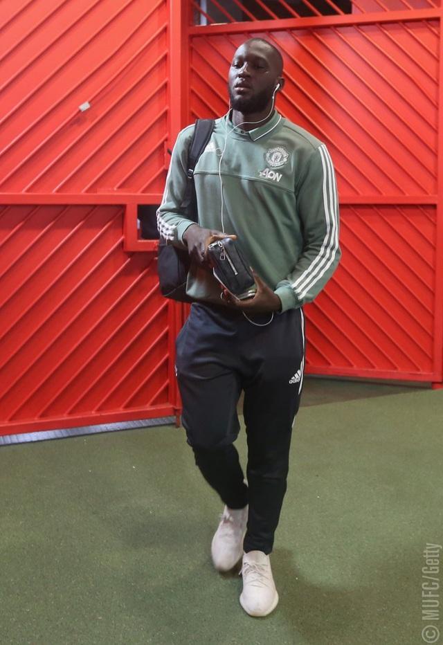 Tiền đạo Romlu Lukaku sẽ có trận đấu thứ 50 cho Quỷ đỏ