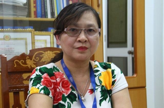 Bác sĩ Lê Thúy Nguyệt, Giám đốc Trung tâm Y tế quận Thanh Khê - Ảnh: Hải Hiếu