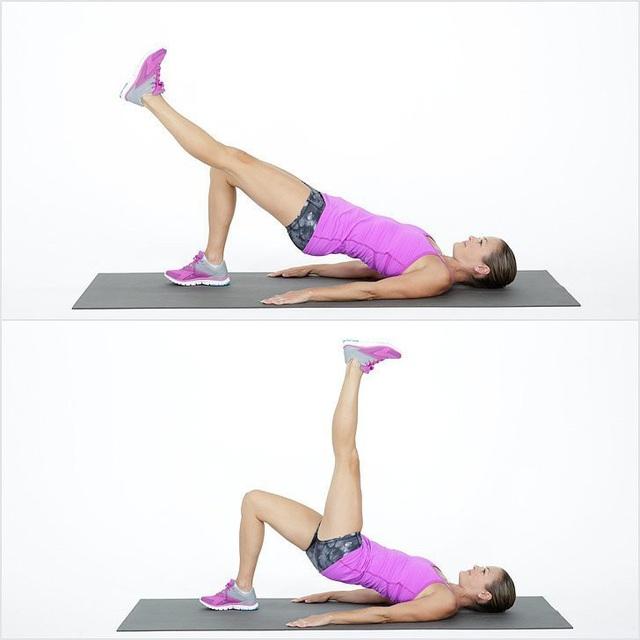 10 bài tập thể dục hiệu quả trên thảm cá nhân - 2