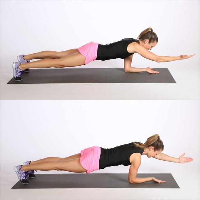 10 bài tập thể dục hiệu quả trên thảm cá nhân - 7