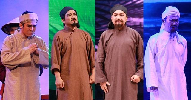4 nghệ sĩ đảm nhận vai thầy Ba Đợi với nghệ sĩ Quang Khải (thời trẻ), NSƯT Lê Tứ (trung niên), NSƯT Thanh Tuấn (về già) và NSƯT Xuân Vinh (sau khi qua đời)