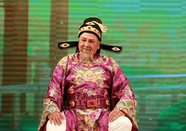 Lâu lắm rồi khán giả mộ điệu cải lương mới được gặp lại NSƯT Hùng Minh với vai kép độc quen thuộc