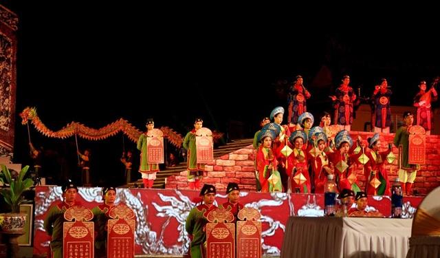 Các di sản thế giới tại Huế được trình diễn qua các hoạt cảnh