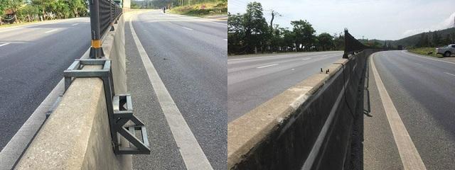 ...và chiếc thang sắt tại chân đèo Lý Hòa, huyện Bố Trạch đã được tháo gỡ