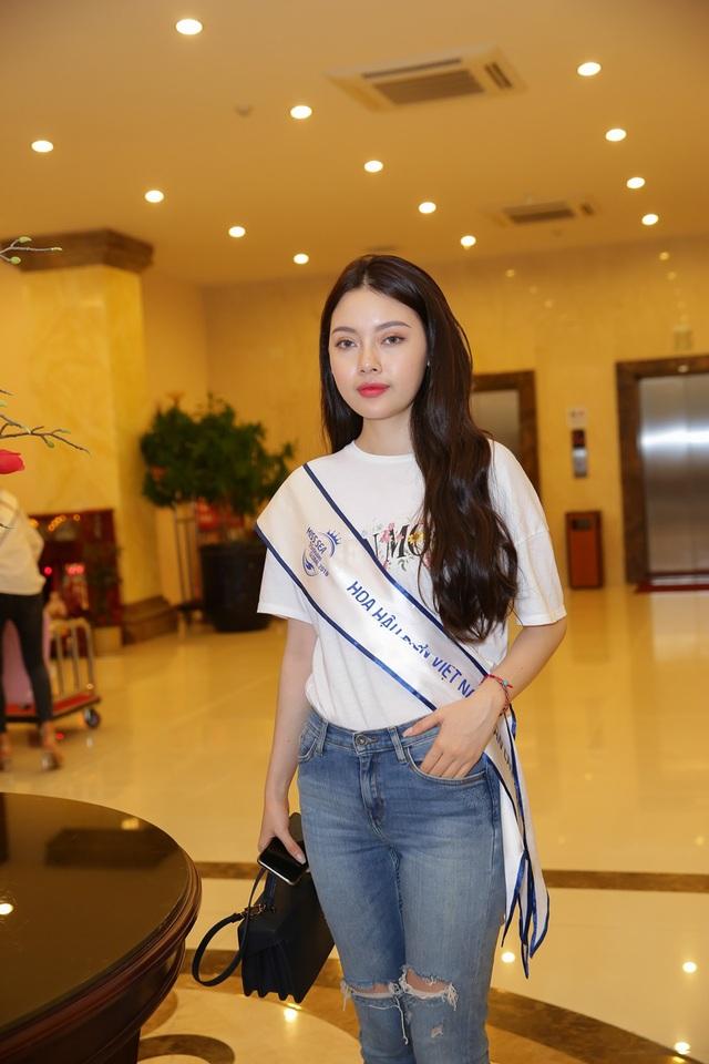 Nhan sắc Top 70 Hoa hậu biển hai miền lộ diện trước đêm Bán kết - 7
