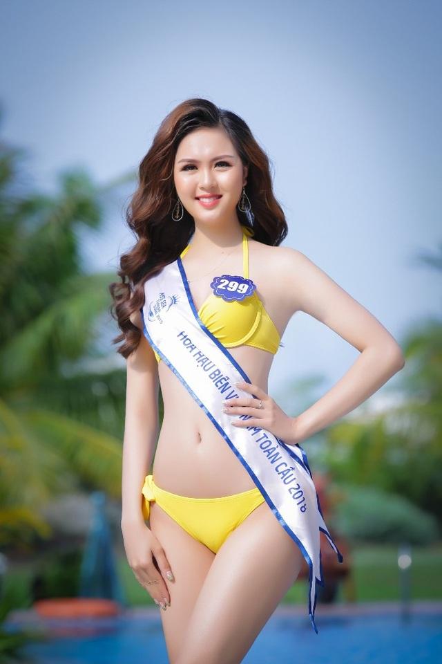 """Những gương mặt cũ đáng chú ý có Võ Ngọc Lụa – cô gái trẻ từng lọt vào Top 5 Hoa hậu Đại dương 2017 và khiến công chúng """"nhớ mặt đặt tên"""" với phần thi ứng xử ngô nghê, hài hước."""
