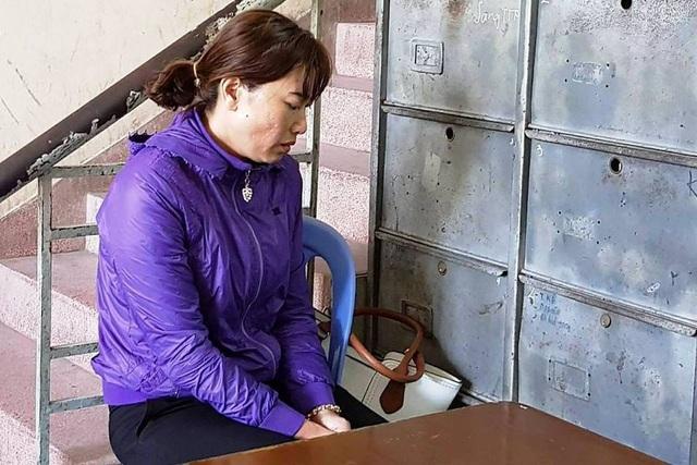 Bị can Linh tại cơ quan điều tra.