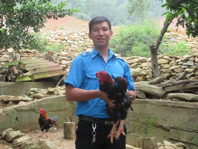 Vũ Thành Đạt khởi nghiệp từ nuôi gà đông tảo