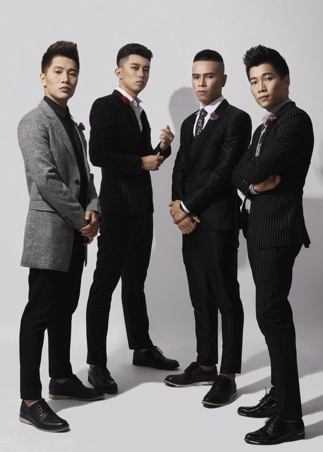 4 thành viên nhóm OPlus.