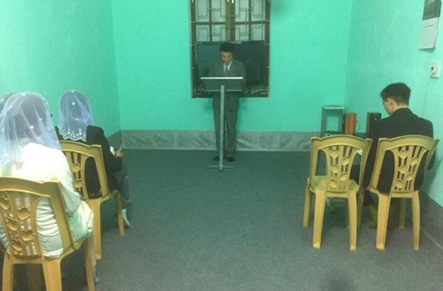 Buổi sinh hoạt của hội viên Hội thánh tại huyện Ngọc Lặc bị lực lượng công an phát hiện, xử lý