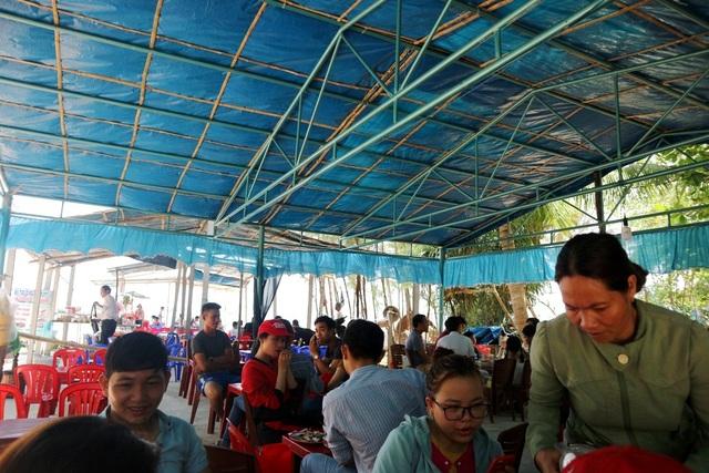 Xã đảo Tam Hải, một điểm vui chơi giải trí được nhiều bạn trẻ lựa chọn để tránh nóng dịp nghỉ lễ