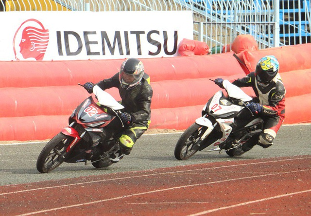 Các tay đua tranh ở các thể loại honda Blade, wave và MSX 110cc -125cc, winner 150cc