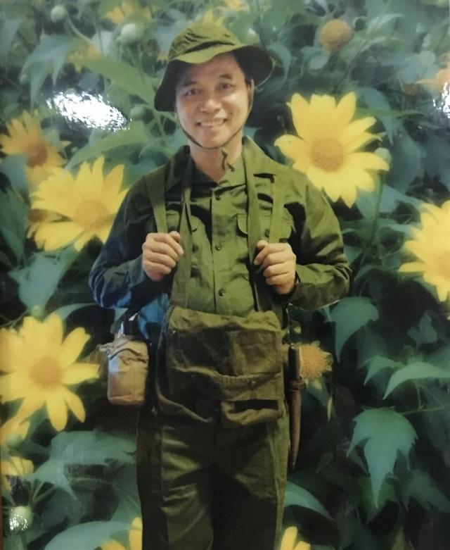 Chàng trai Lê Mạnh Hải thời trẻ.