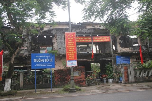 Trường Bồ đề là chứng tích thể hiện sự tàn phá khủng khiếp của chiến tranh. Căn nhà duy nhất còn lại sau 81 ngày đêm lịch sử của quân dân Việt Nam tại Thành cổ Quảng Trị