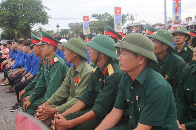 Các cựu chiến binh tham dự ngày hội thống nhất