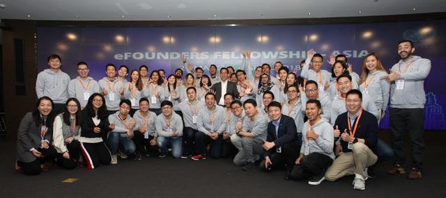 Các hội viên tham dự eFounders Initiatives tại châu Á