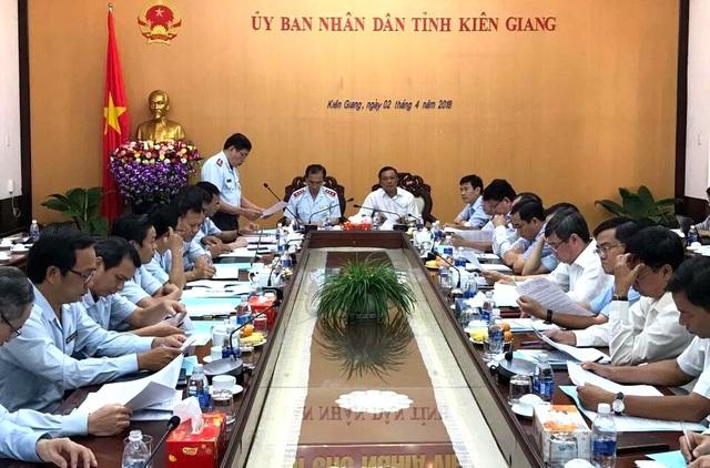 Thanh tra Chính phủ công bố quyết định thanh tra việc chấp hành pháp luật trong công tác quy hoạch, quản lý, sử dụng đất đai, quản lý và khai thác tài nguyên khoáng sản, bảo vệ môi trường trên địa bàn tỉnh Kiên Giang.