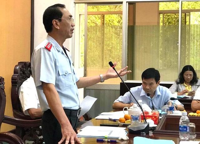 Phó Tổng Thanh tra Chính phủ Đặng Công Huẩn yêu cầu phải thanh tra làm rõ các sai phạm, thiếu sót trong quản lý sử dụng đất, khai thác khoáng sản, bảo vệ môi trường.