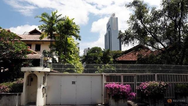 Ngôi nhà cũ của gia đình cố Thủ tướng Singapore Lý Quang Diệu (Ảnh: Reuters)