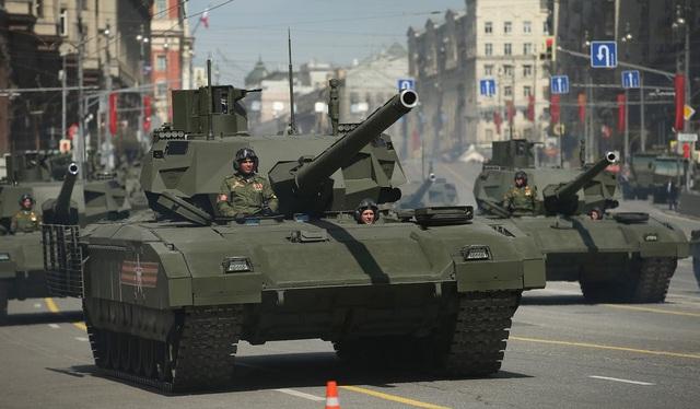 Xe tăng T-14 Amatar (Ảnh: Getty)