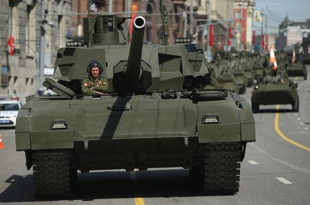 Xe tăng T-14 Armata (Ảnh: Getty)