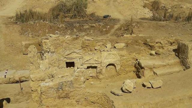 Ai Cập phát hiện di tích đền thờ mang phong cách Hy Lạp – La Mã cổ đại - 2