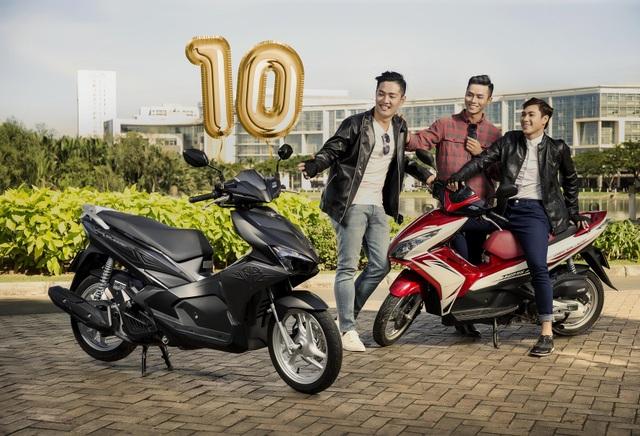 Honda Việt Nam tung nhiều giải thưởng hấp dẫn kỷ niệm 10 năm ra mắt Air Blade - 4