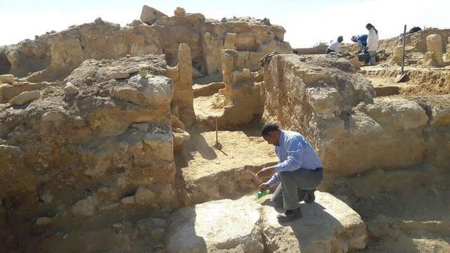 Ai Cập phát hiện di tích đền thờ mang phong cách Hy Lạp – La Mã cổ đại - 1