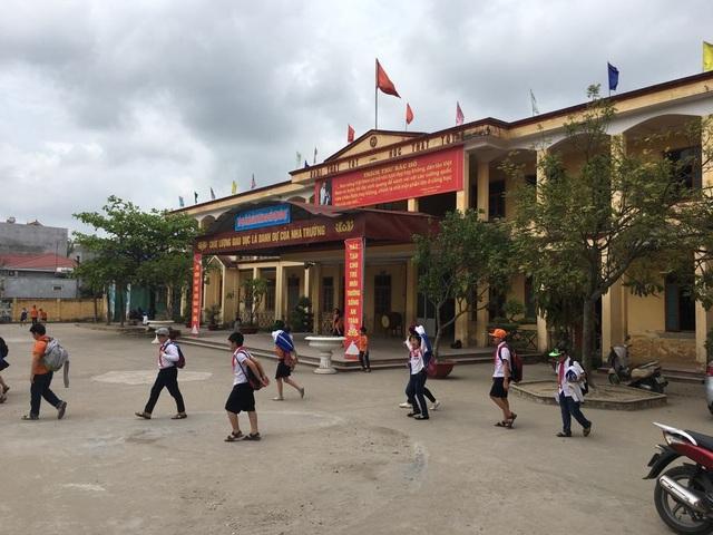 Trường tiểu học An Đồng (huyện An Dương, TP. Hải Phòng) nơi xảy ra vụ việc.