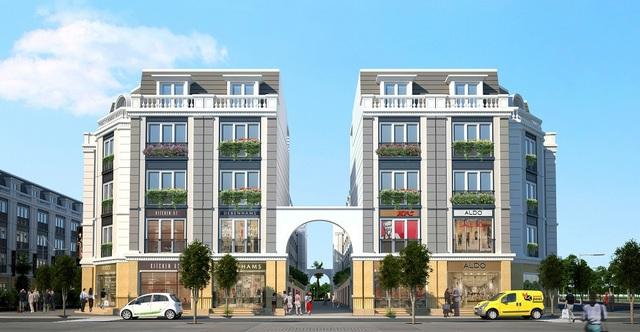 Nhà phố thương mại 2 mặt tiền độc lập tại Eurowindow Garden City