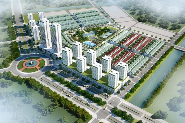 Phối cảnh tổng thể dự án An Cựu city