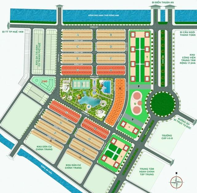 Master Plan dự án An Cựu city