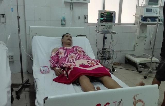 L. T. T. (34 tuổi) đang điều trị tại bệnh viện Đa khoa Trung ương Cần Thơ