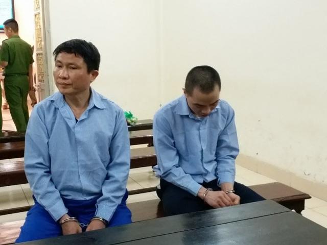 Các bị cáo tại phiên tòa xét xử ngày 4/4.