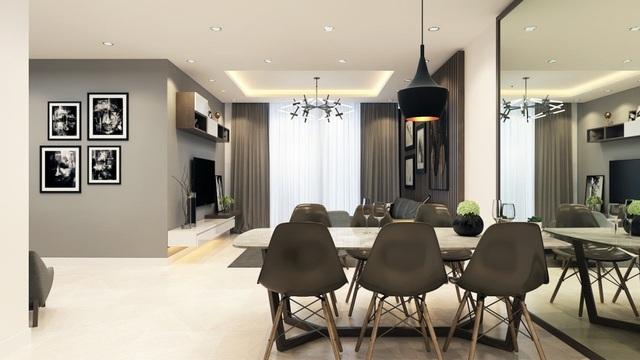 H1: Hình ảnh phối cảnh căn hộ dự án Bohemia Residence