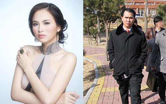 Hoa hậu Diễm Hương và ông Đinh Trường Chinh