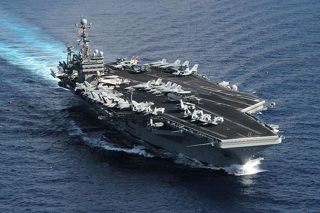 Tàu sân bay USS Theodore Roosevelt của Mỹ (Ảnh: Wikipedia)