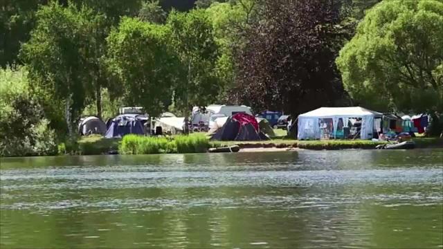 Một góc của khu cắm trại khỏa thân Dyer Woods Nudist