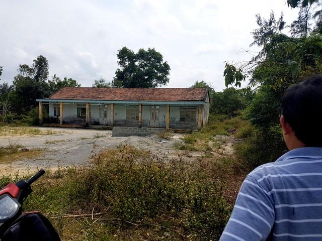 Ngôi trường tiểu học cũ mà phường Điện Dương xin ý kiến người dân để bán nhưng không được