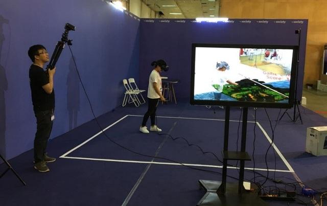 Phòng chơi game thực tế ảo.