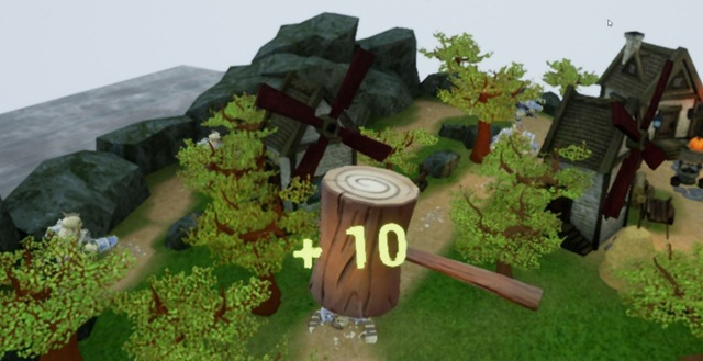 2 game thực tế ảo Protector of the Realm và Hammer X