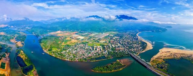 Golden Hills nằm trong tổng thể quy hoạch vùng Tây Bắc Đà Nẵng non nước hữu tình