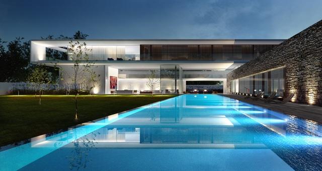 Biệt thự nghỉ dưỡng tráng lệ và sang trọng Tâm Villa