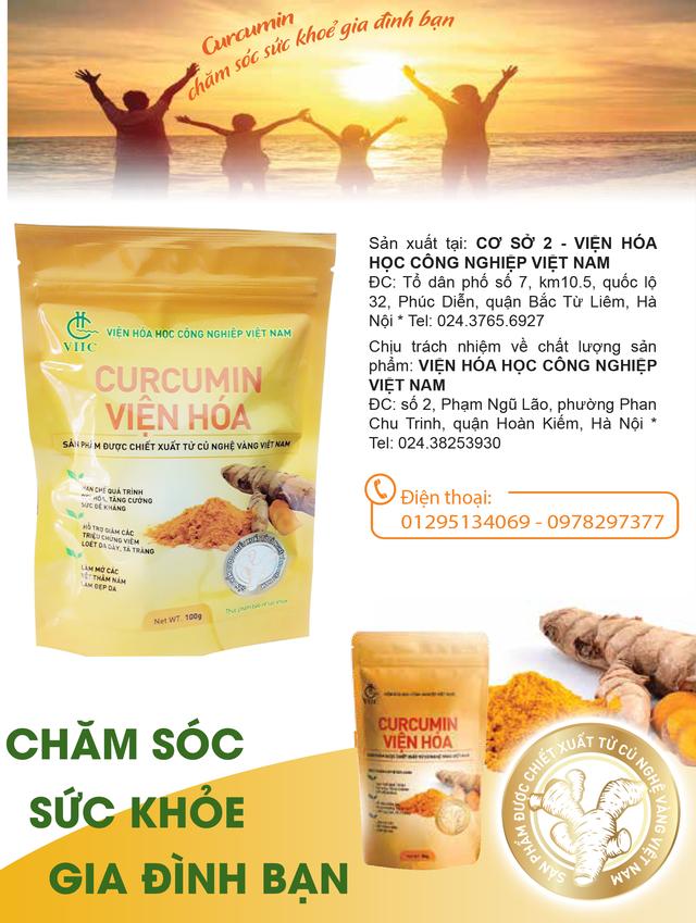 Tác dụng chưa được biết của CURCUMINOID trong củ nghệ Việt Nam - 2